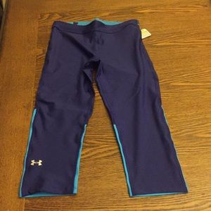 NWT underarmour women's x-fit cropped leggings